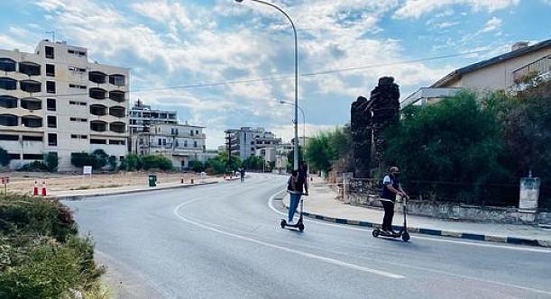 Maraş'ın güvenliği scotterli polislerle sağlanıyor