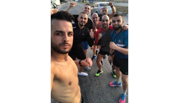 Maratoncular antrenmanlara başladılar