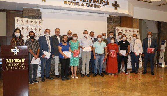 Merit Lefkoşa Hotel 12. hizmet yılını  personeliyle kutladı