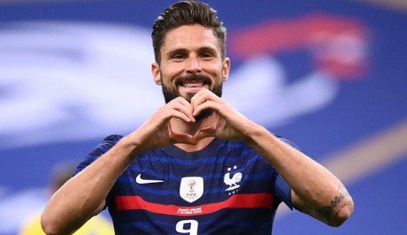 Olivier Giroud'dan tarihi başarı
