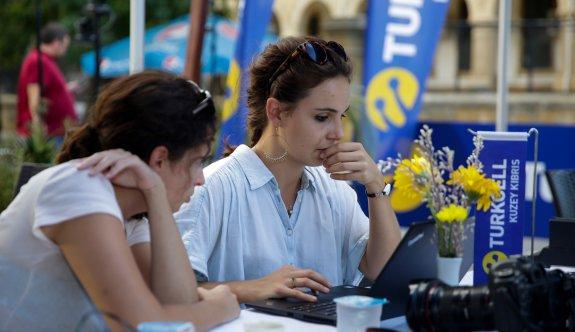 Seçimin nabzı,  Turkcell Teknoloji Alanı'nda tutuldu