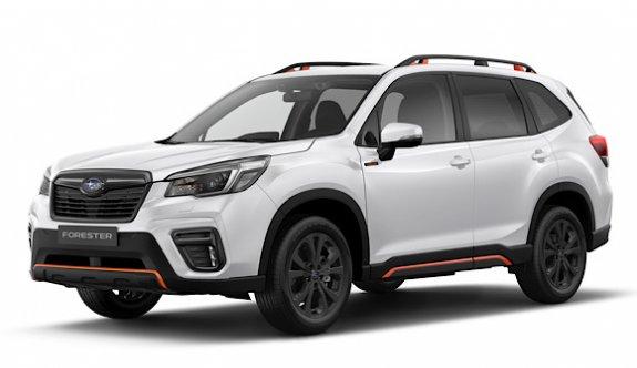 Subaru Forester'a sportif versiyon