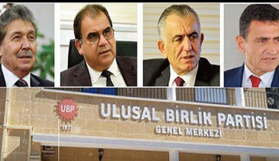 UBP'de beş aday yarışacak