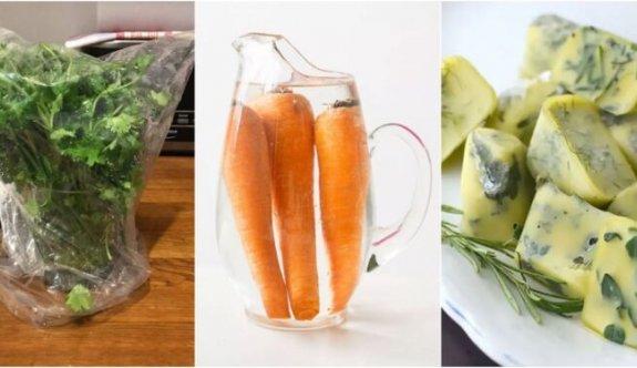 Yiyecekleri Daha Uzun Süre Saklamak İçin Bilmeniz Gereken 26 Şey