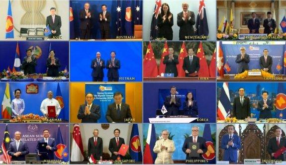 15 ülke dünyanın en büyük ticaret anlaşmasını imzaladı