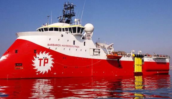 Barbaros Gemisi için yeni NAVTEX