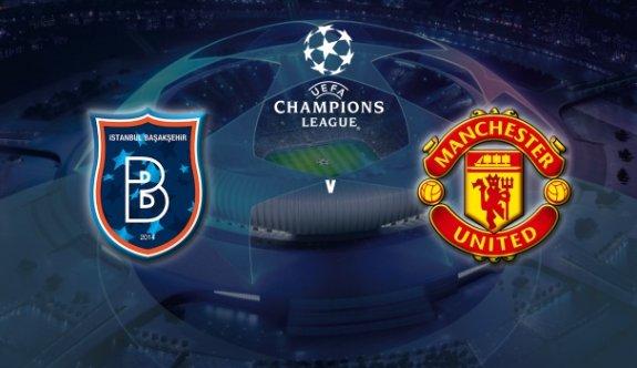 Başakşehir, Manchester United'ı konuk edecek