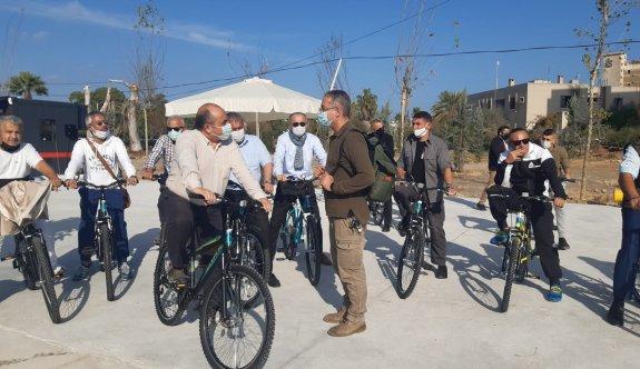 Büyükelçi Başçeri, Maraş'ta bisiklet turu yaptı