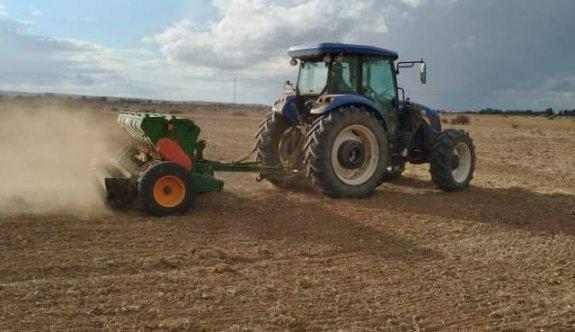 Çiftçi ekime hız verdi