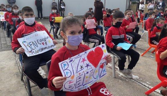 Çocuk Hakları Günü Haspolat İlkokulu'nda kutlandı