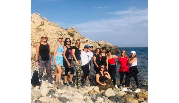 Cypriot Naturel Walkers üyeleri sezonu açtı