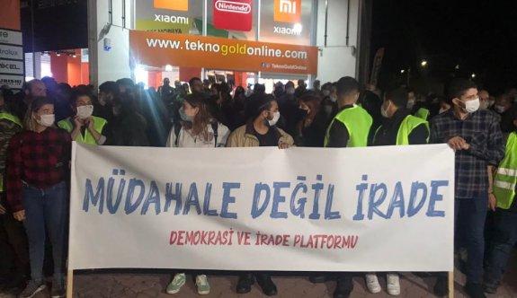 """""""Demokrasi ve İrade'  yürüyüşü başladı"""