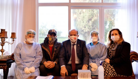 Erdoğan için PCR testi