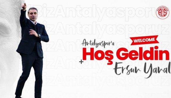 Ersun Yanal Antalyaspor'da