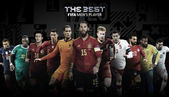 FIFA 'The Best' ödülü adayları açıklandı