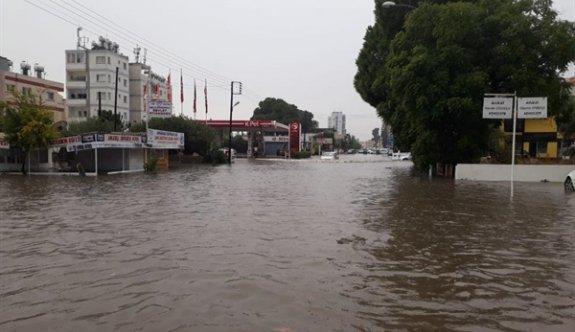 Gazimağusa'ya metrekareye 85 kg yağış düştü