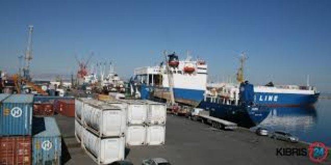 Girne Turizm Limanında kaza