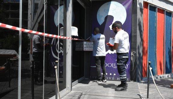 Girne'de beş işyerine mühür