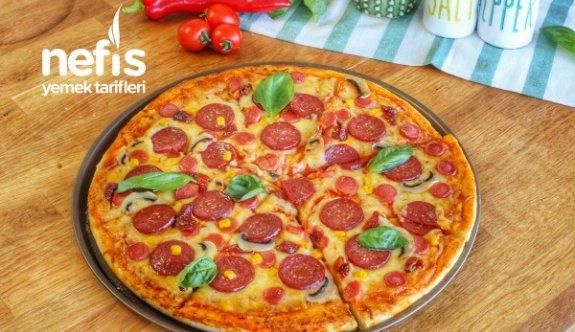 Hazırlarını Unutturacak Evde Pizza Tarifi Nasıl Yapılır?