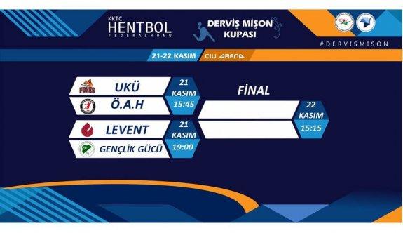 Hentbolda ilk heyecan Mişon Kupası