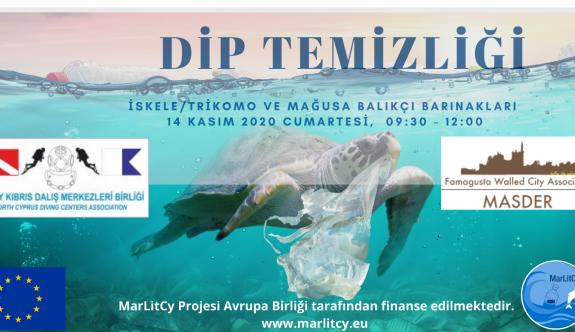İskele Gazimağusa balıkçı limanlarında deniz dip temizliği yapılacak