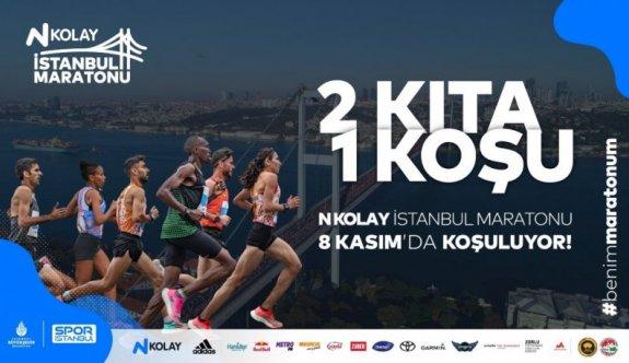 İstanbul Maratonu 8 Kasım'da