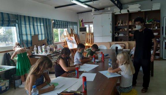 Kültür-sanat kurslarına yoğun ilgi