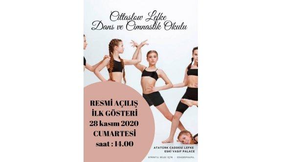 Lefke'de cimnastik çalışmaları başlıyor