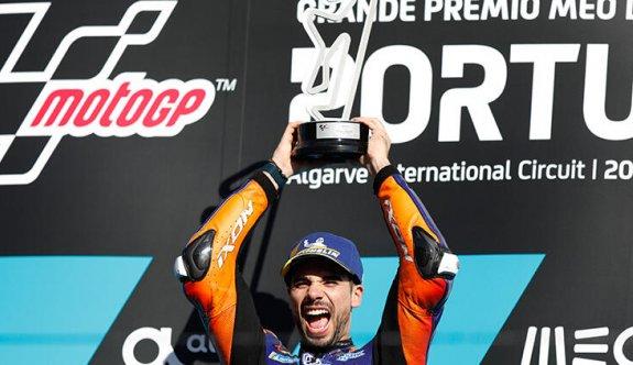 Moto GP'de sezonun son yarışı Miguel Oliveira'nın