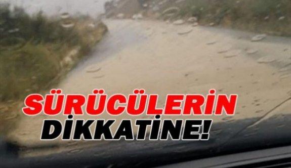 Polis'te Karpaz bölgesindeki sürücüleri uyardı