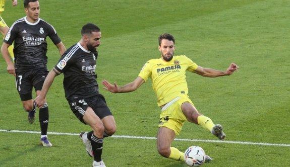 Real Madrid, Villarreal'den kaçamadı