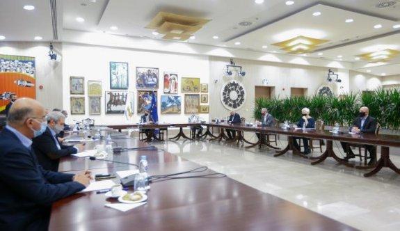 Rum başkanlık sarayında 5'li konferans gündemli toplantı