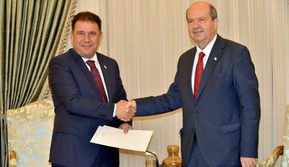 Tatar, hükümet kurma görevini Ersan Saner'e verdi