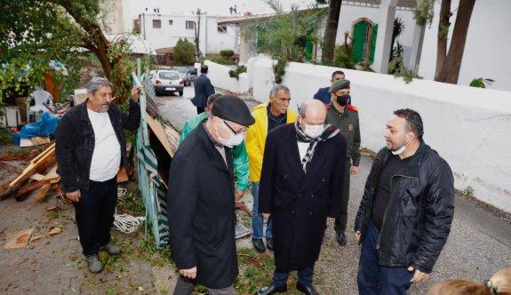 Tatar, Ozanköy'de incelemede bulundu