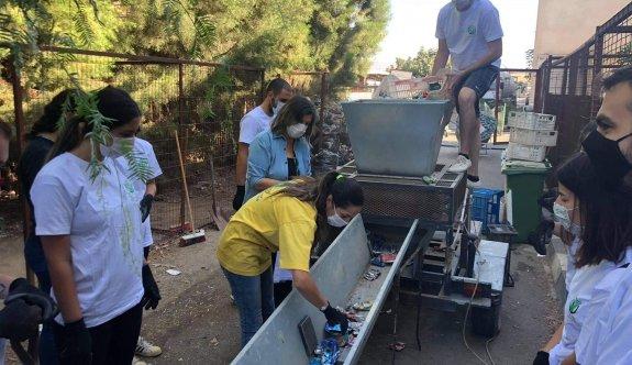 """""""Teneke Çocuk"""" projesinin 11'inci etkinliği Lefkoşa'da yapıldı"""