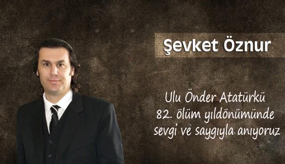 Ulu Önder Atatürk 82. ölüm yıldönümünde anıyoruz