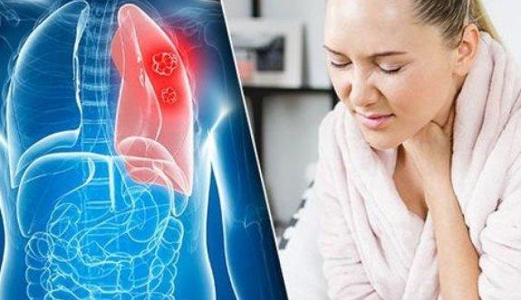 Vakalarda akciğer kanseri ilk sırada