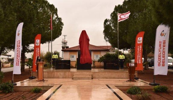 Akçay'a Atatürk Büstü