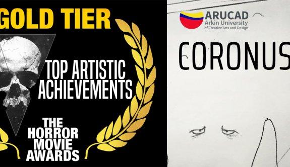 'CORONUS' filmine Kanada'dan  En iyi Sanatsal Başarı Ödülü
