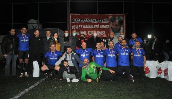 Dairelerde Vergi Dairesi şampiyon