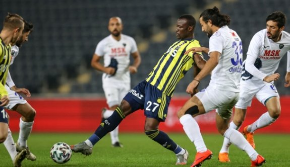 Fenerbahçe tek golle turladı
