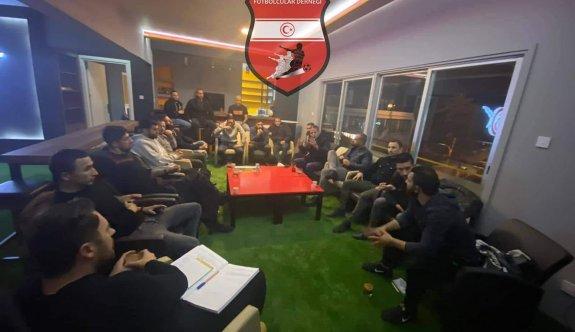Futbolcular Derneği yönetimi toplandı