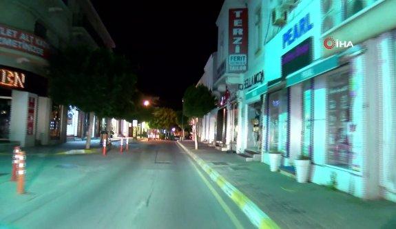 Geceden sabaha sokağa çıkma yasağı