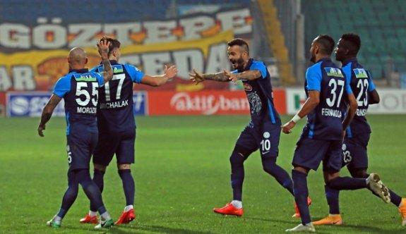 Gollü maçta kazanan Rizespor