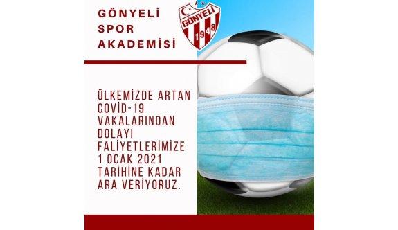 Gönyeli'de futbola ara