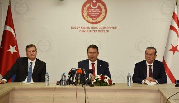 Hükümet ortakları Ankara'ya uçtu
