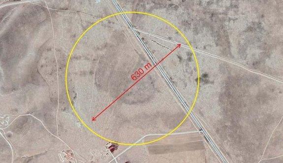 Konya'da üzerinden yol geçen devasa bir obruk tespit edildi