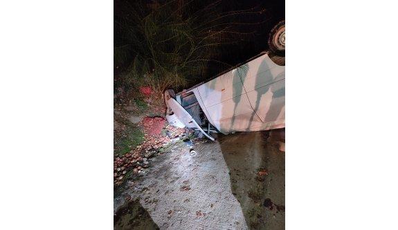Lefkoşa-Gazimağusa yolunda korkutan kaza