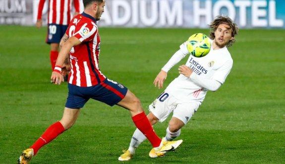 Madrid derbisinde zafer Real'in