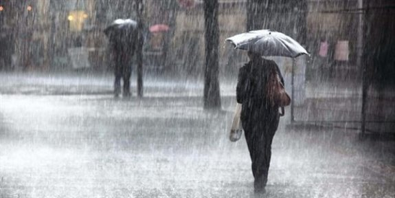 Meteoroloji Dairesi'nden kuvvetli sağanak yağış uyarısı